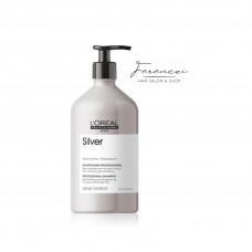 L'Oréal Professionnel Serie Expert Silver sampon-semlegesítő sampon szőke/ősz hajra, 500ml